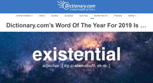 existential word of the year
