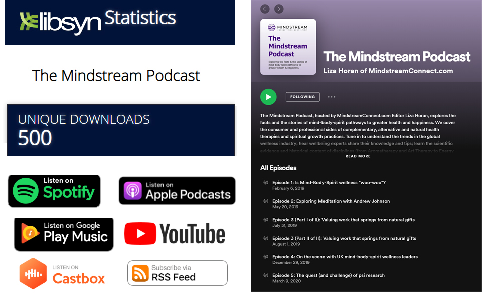 The Mindstream Podcast 500 listens