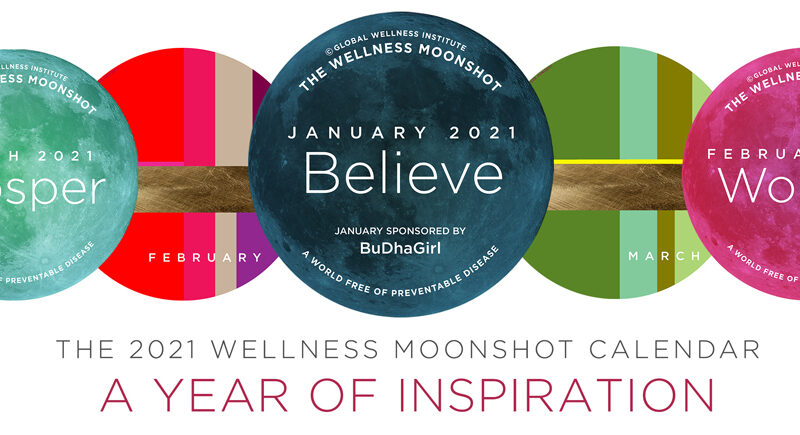 Wellness Moonshot for 2021 by the Global Wellness Institute