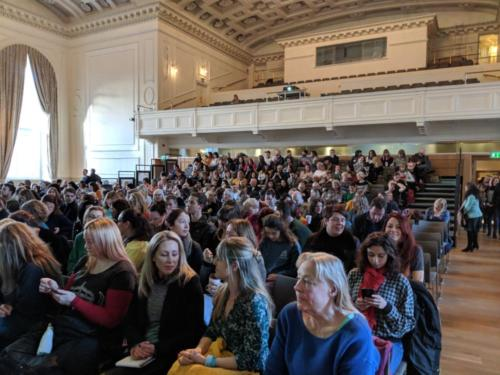 Keynote speakers, including Dr. Giles Yeo and Dr. Rangan Chatterjee packed the auditorium at the Assembly Rooms.